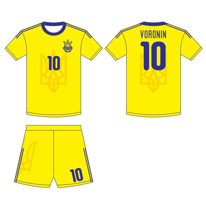 customizable-retro-yellow-blue-soccer-jersey