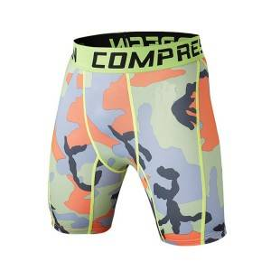 Wholesale High Quality Sportswear Custom Compression Shorts
