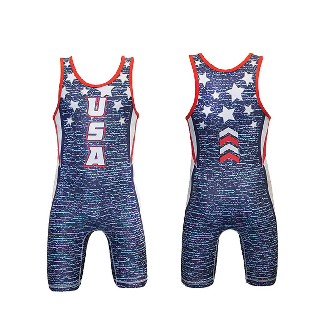 High Quality Custom Printed Wrestling Singlets Featured Image