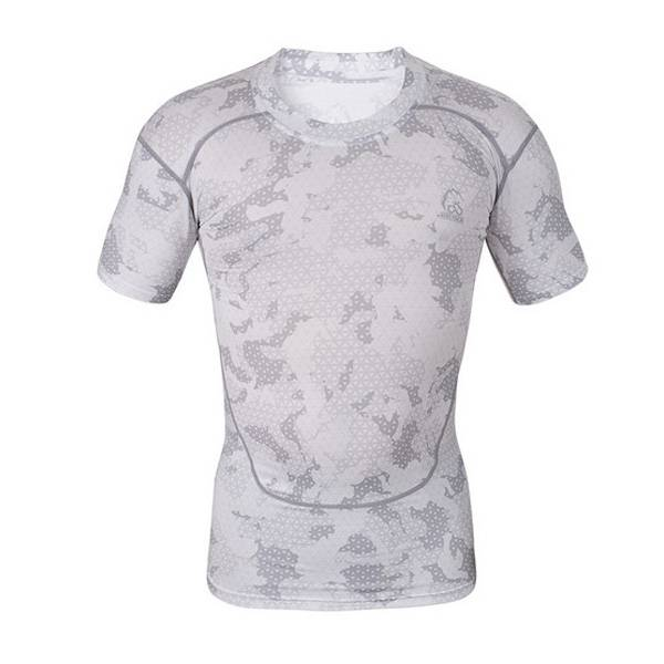 High quality polyester custom sublimated compression shirt Featured Image