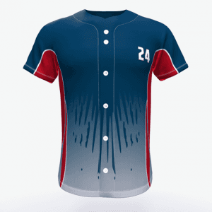 OEM Sublimasi Printed Olahraga Wear Baseball Jersey