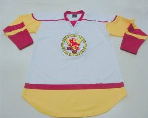 Professional laced collar Ice hockey jerseys