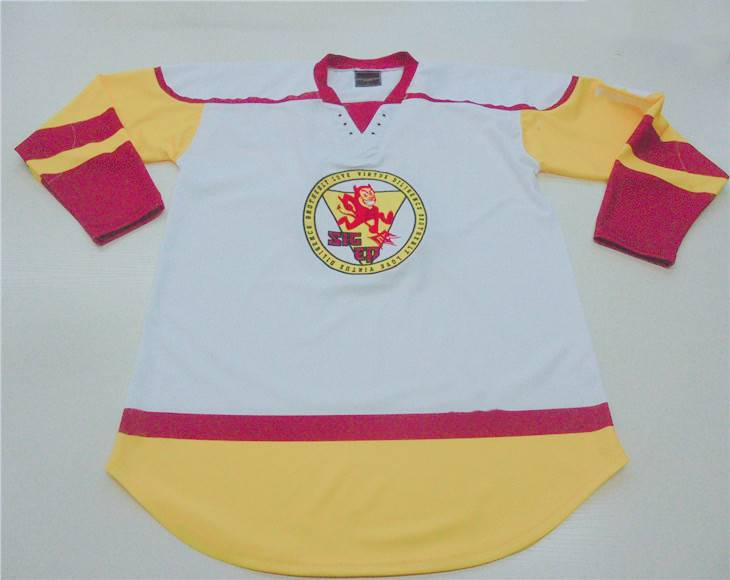 Professional laced collar Ice hockey jerseys Featured Image