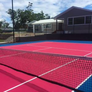 Multi-Function Sports Surfaces Tennis Court