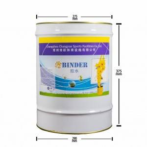 Polyurethane Binder for Mixing Rubber Granules