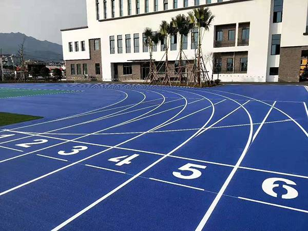rubber-running-track