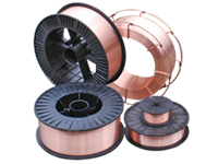 ER70S-3 is a mild steel copper coated welding wire suitable for CO2 gas protective welding