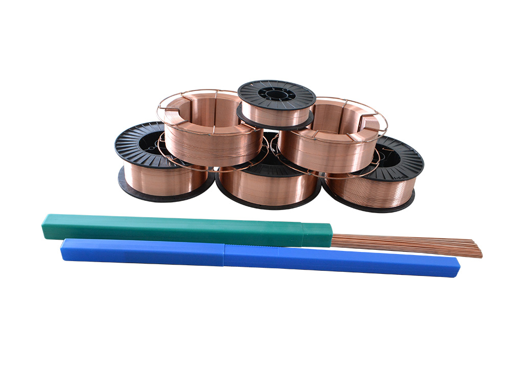Best Price on Copper Welding Wire - ER49-1 Used to weld ship building steeland mild steel products with strength at 490N/mm2 degree – Hucheng