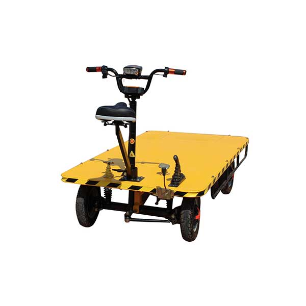 OEM Supply Electric Four Wheel Flat Bed Transporter -
