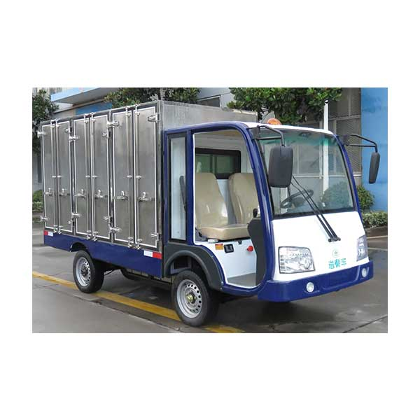 Wholesale Price 3 Wheel Electric Garbage Loader With Plastic Hopper -