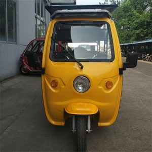 Electric Solar Tricycle