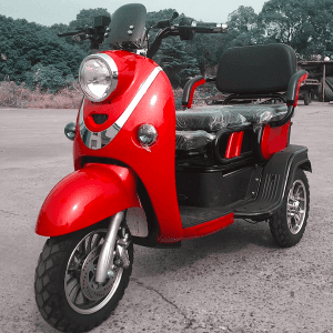 Electric Passenger-Cargo Combined Tricycle /3-seat mini passenger tricycle/ Multi-function Electric Tricycle