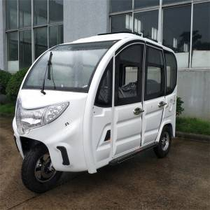 Electric  4-Door Passenger Tricycle