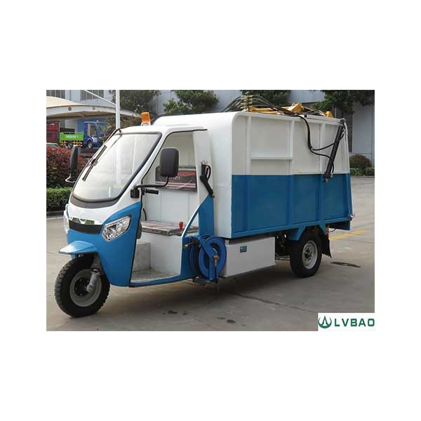 Special Design for Closed Cabin Tricycle -