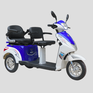 Two Seat Electric Passenger Tricycle / Handicapped Passenger Tricycle / Sight Seeing Tricycle