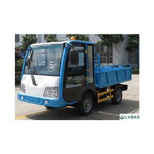 China Cheap price Electric Three Wheel Flushing Vehicle -