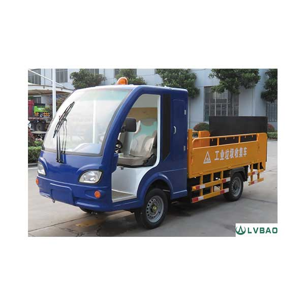 Factory Cheap Hot Electric Three Wheel Garbage Side Loader -