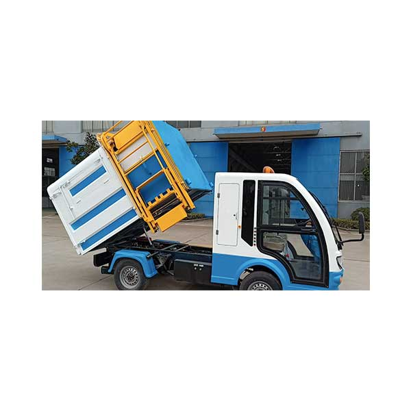 100% Original Electric Four Wheel Garbage Loader -