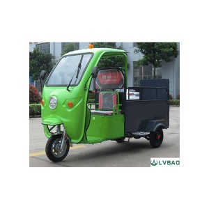 Best-Selling Electric Three Wheel Garbage Car -