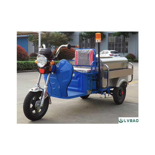 Professional China Electric Trash Collecting Tricycle -