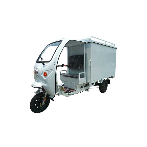 Hot Sale for Electric Three Wheel Closed Body Cargo Vehicle -