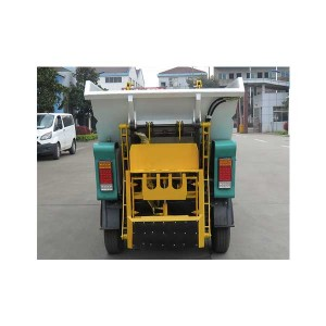 4 Wheel Electric Garbage Rear Loader