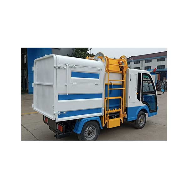 Factory Cheap Hot Four Wheel Electric Trash Truck -