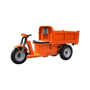E Civil Construction Tricycle