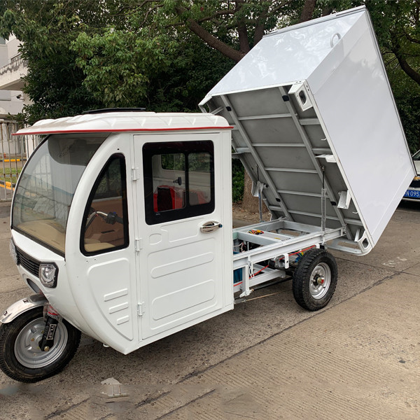 Weather Proof Enclosed E Cargo Tricycle(3W) Featured Image