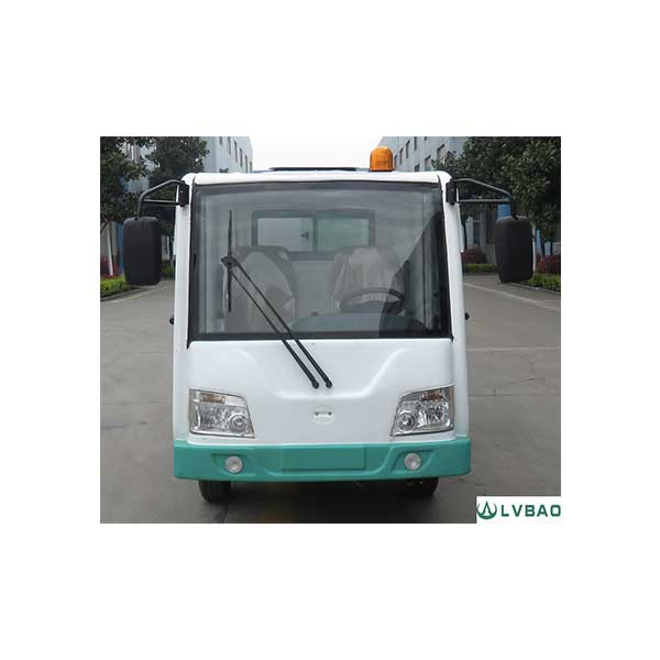 4 Wheel Electric Garbage Rear Loader Featured Image