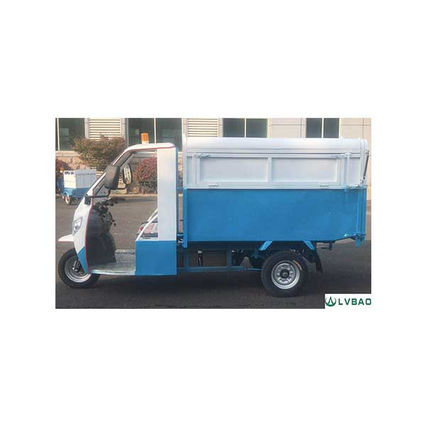 Wholesale Electric Tricycle With Side Dustbin Loader -