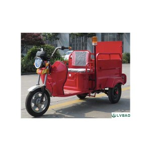 3 Wheel Electric Dustbin Transporter(1 bin)