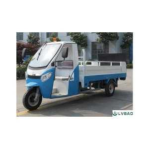 3 Wheel Electric Dustbin Transporter(6 bins)