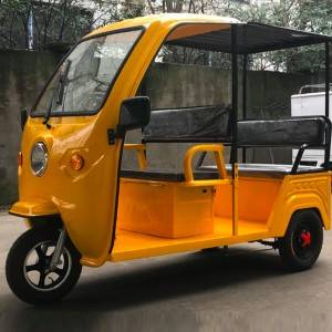 Luxury E Passenger Tricycle