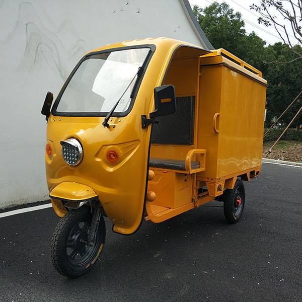 Closed-body Cargo Tricycle(3W) Featured Image