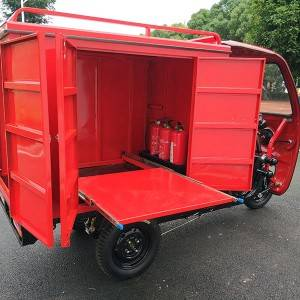 Electric Fire Fighting Tricycle