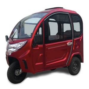 Super Mini Passenger Tricycle With Doors