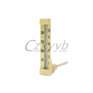 XY-001 V-Shape Glass Thermometer