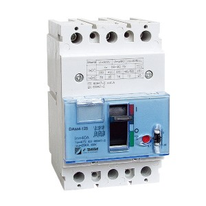 DAM4 Series Moulded Case Circuit Breaker(MCCB)