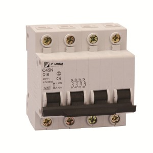 High Quality for 1 Pole Circuit Breaker - C45 4P  Miniature Circuit Breaker – DaDa