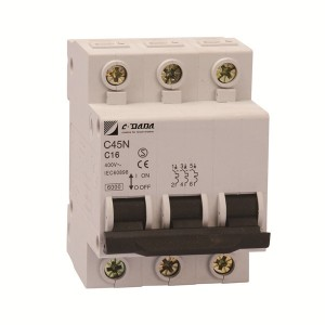 Manufacturing Companies for 15 Amp Circuit Breaker - C45 3P  Miniature Circuit Breaker – DaDa