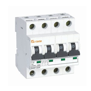 Fixed Competitive Price 10a Circuit Breaker - DAB7-100 8kA MCB Switch Miniature Circuit Breaker – DaDa