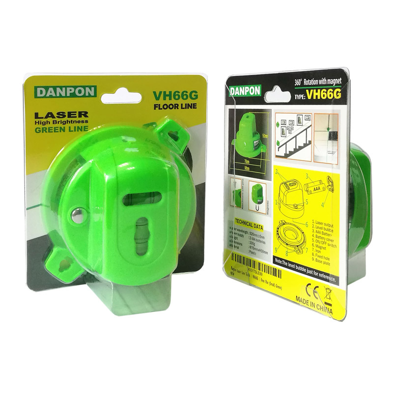 Europe style for Laser - VH-66G Green Floor Line 360° Rotation with Magnet – JIABEI