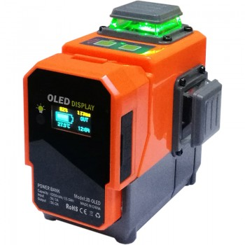 OEM/ODM Supplier 6 Head Blue Laser Light - VH-3D Green 12 Lines 360° Vertical & Horizontal Cross – JIABEI
