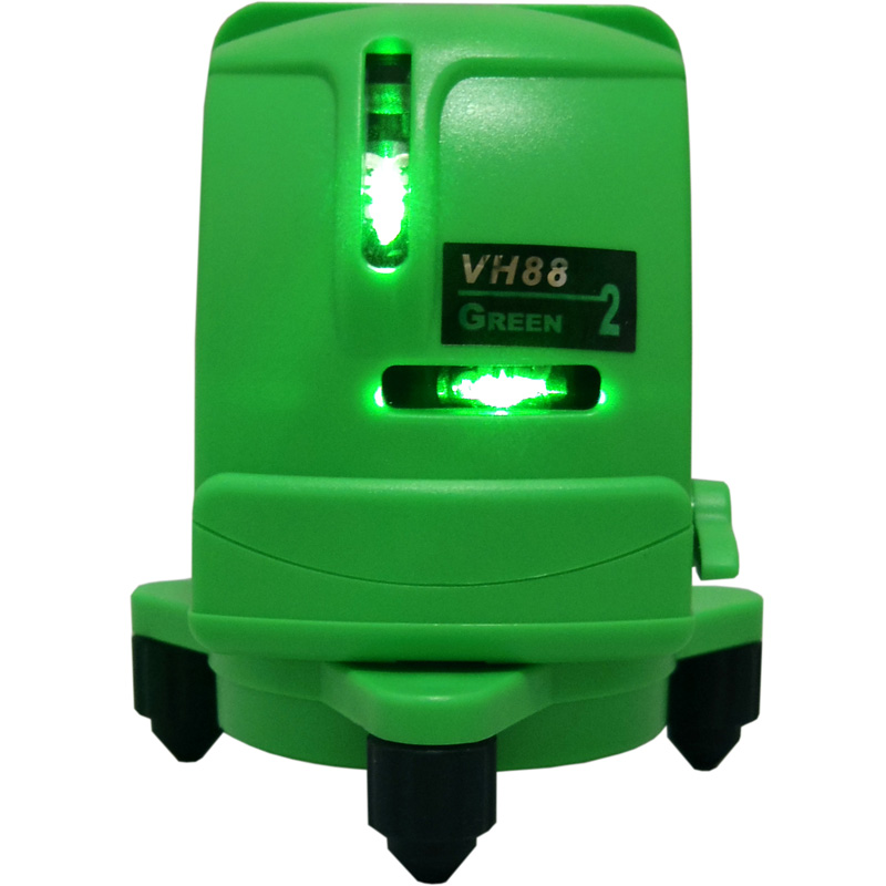 Bottom price Laser Lights - VH88 Green 2 Lines Cross Line – JIABEI