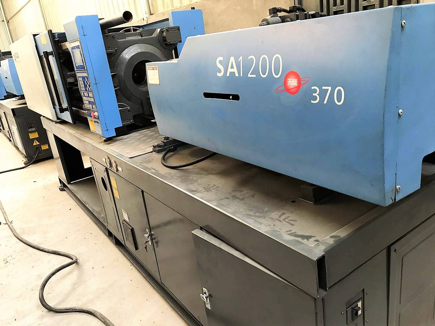 Haitian 120t (SA120) used Injection Molding Machine. Featured Image