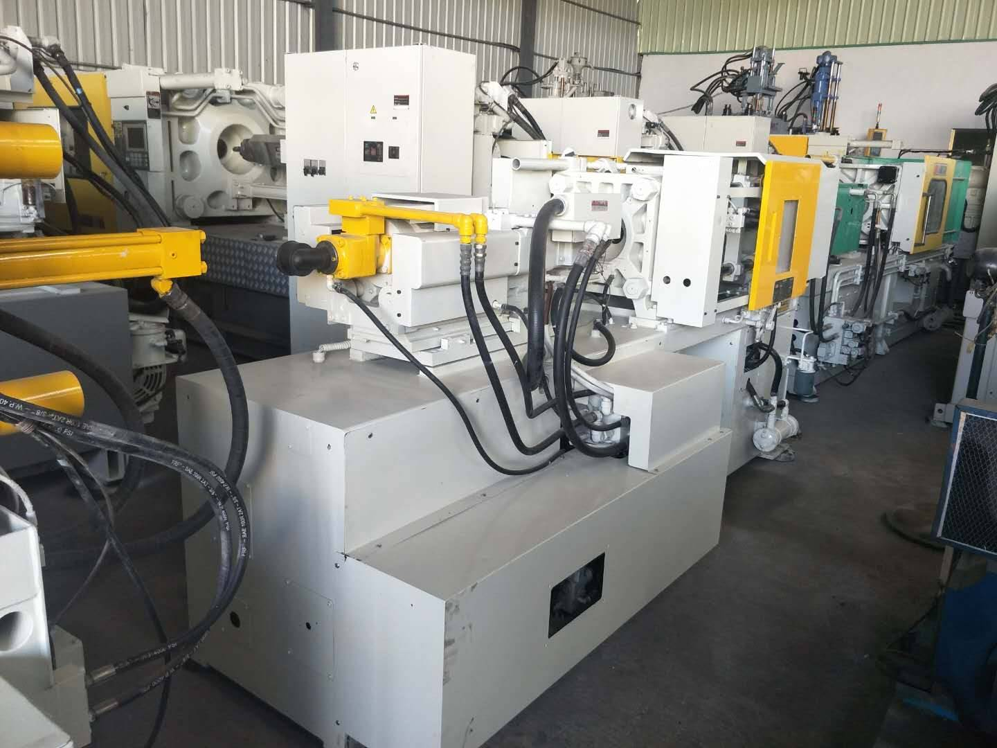 Kawaguchi 45t and 40t used Injection Molding Machine Featured Image