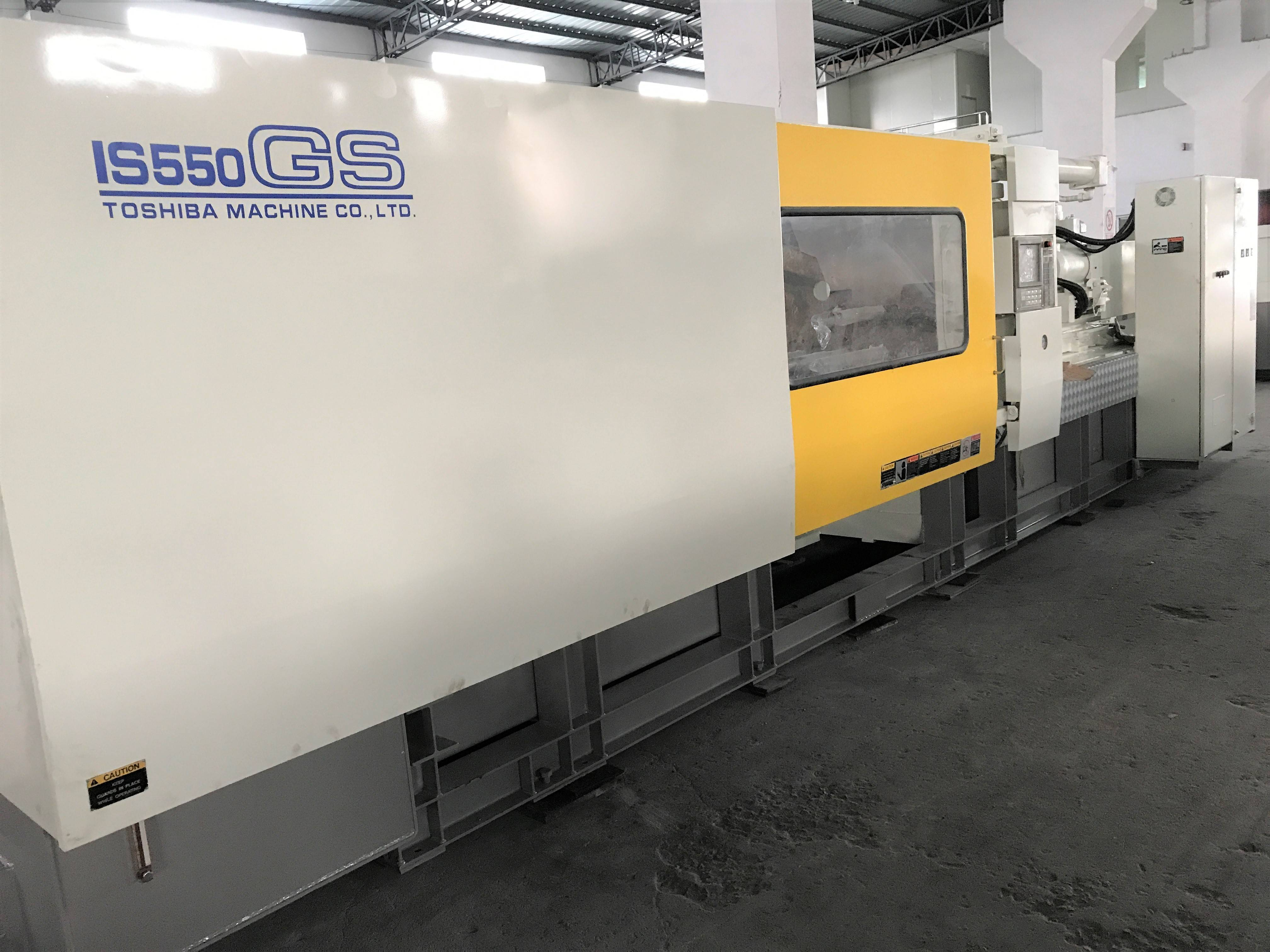 Toshiba 550t (IS550GS) year 2009 used Injection Molding Machine Featured Image