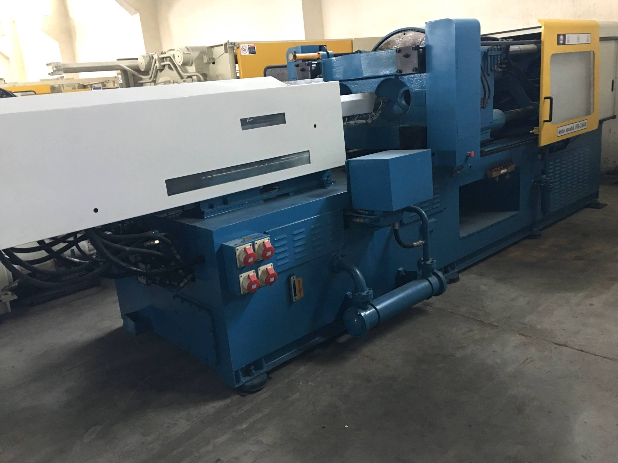 Fu Chun Shin (FCS) Two color Double Color 260t used Injection Molding Machine