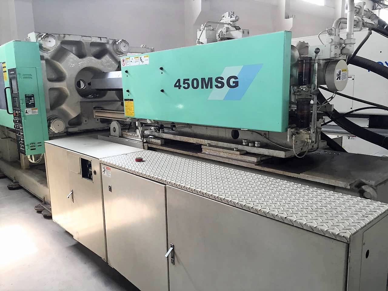 Mitsubishi 450t (450MSG) Used Injection Moulding Machine Featured Image